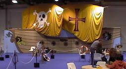 Barco pirata-tunel del terror