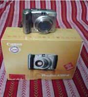 My Camera Canon PowerShot 720 IS
