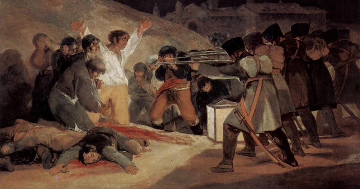 """""""Les fusillades du 3 mai """", Francisco de GOYA: L'oeuvre"""