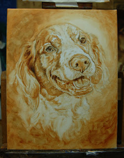 DOG PORTRAIT by Lori Levin