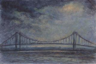 Delaware Memorial Bridge by Levin