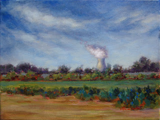 Salem Nuclear Plant by Lori Levin