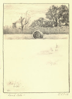 Round Bale by Lori Levin