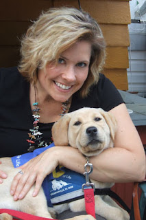 Service Dog and Lori Levin