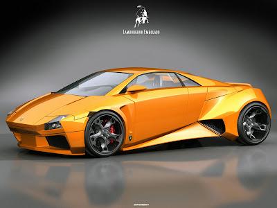 lamborghini embolado concept car