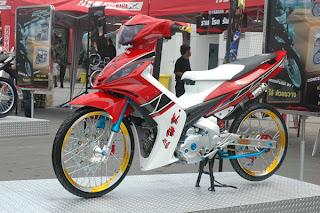 Modifikasi Motor Jupiter Mx Tahun 2008