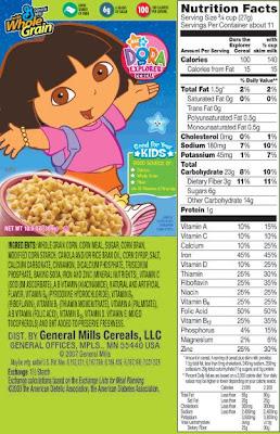 dora the explorer cereal Quotes