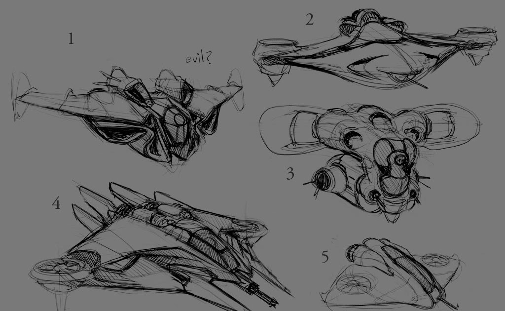 V Ling Gunship Ideation