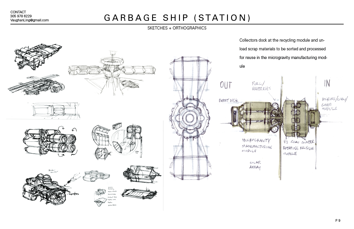 Garbage Ship
