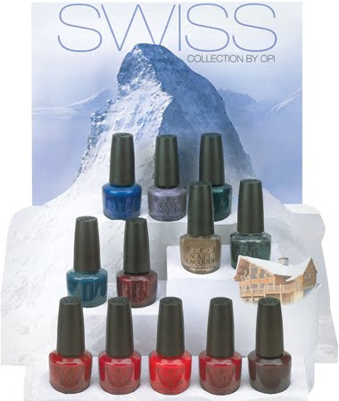 OPI hits the Swiss Alps