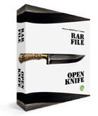 RAR File Open Knife