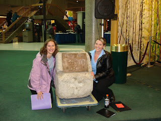 UAF Admissions: The Famous Tradition Stone!!