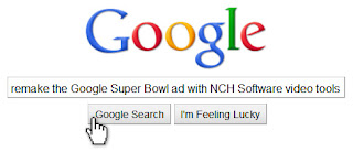 How to remake the Google Super Bowl ad with video tools from NCH Software