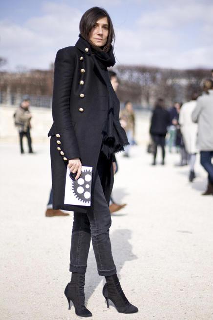 Emmanuelle Alt Style Du Monde: Queenie Valentine: Emmanuelle Alt