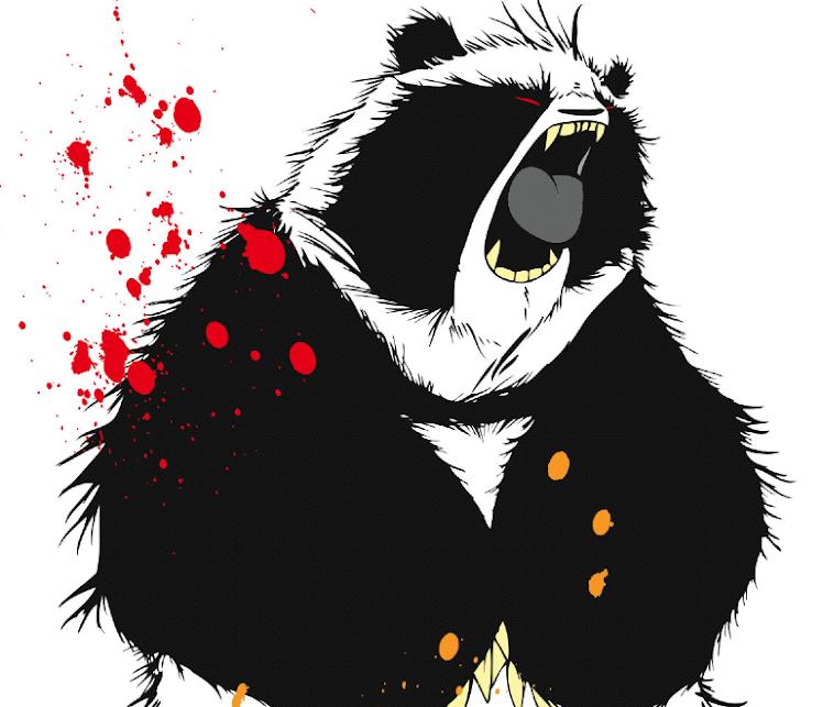 Panda bite - photo#50