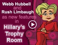 Hillary's Trophy Room