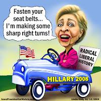 Hillary Turn Right