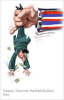 Happy Income Redistribution Day
