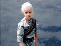 Rosie's Daughter Wearing Gun Belt