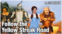 Follow The Yellow Streak Road