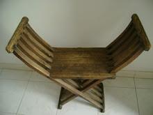 Cadeira de tesoura. clique em cima da imagem!