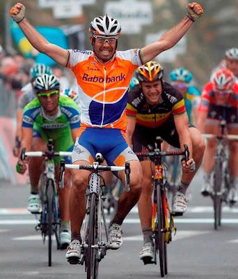 Oscar Freire Wins 3rd Milan-Sanremo