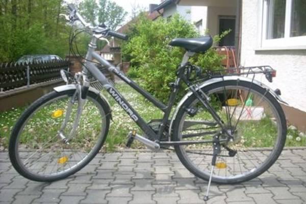 innovative design 2c453 a6b19 Fahrrad-Fahndung: WINORA Bermuda Comfort - schwarz-silbernes ...
