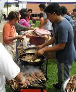 """Los tradicionales """"anticuchitos"""""""