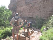 Hiking Down to Phantom Ranch