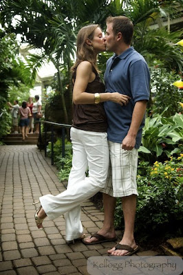 Franklin Park Conservatory Engagement photos