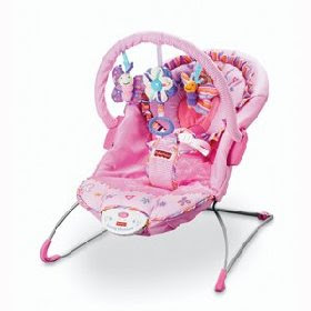 Baby Great Deals: Fisher-Price Think Pink Bouncer
