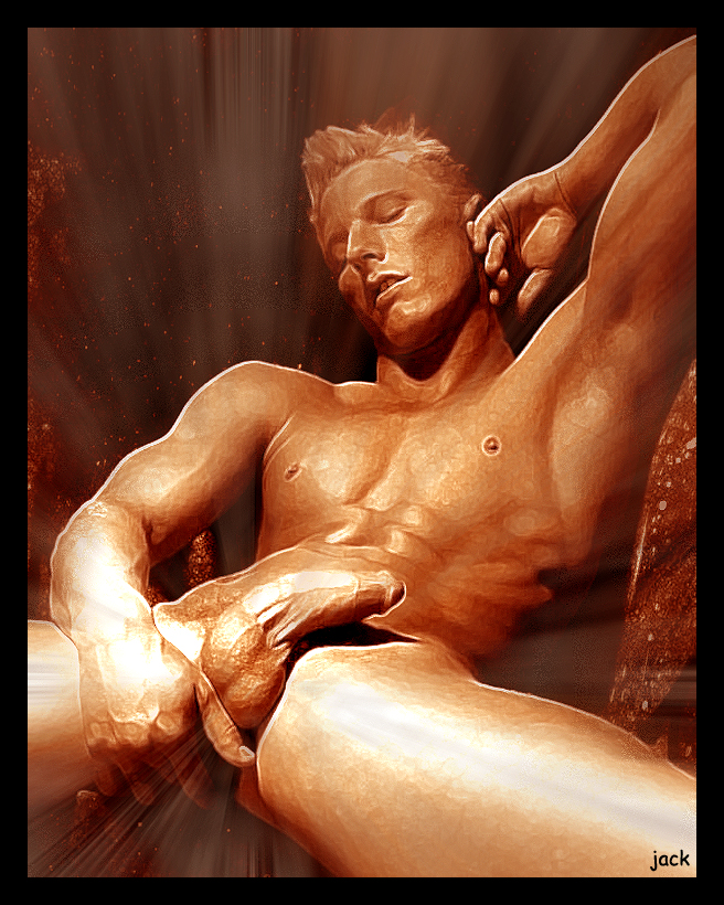 nude paintings with erection