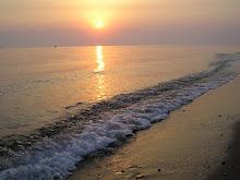 Ανατολή στην παραλία Ιόνιο Βασιλικού