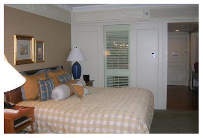 ザオリエンタルホテル客室内