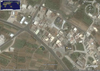 八卦池於google earth
