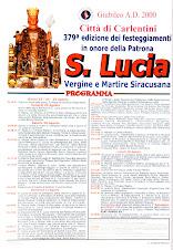 Festa estiva di Santa Lucia