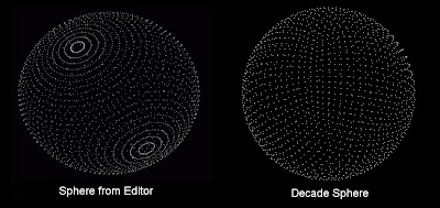 Decade Engine: Procedural Sphere