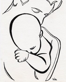 father and child daily drawing