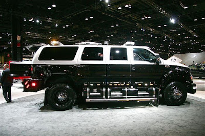 Big Huge Ford Suv
