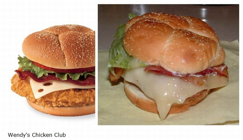 Branded food: Advertising vs Real life: 13Pics