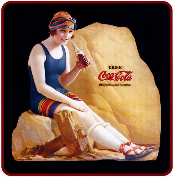 Vintage coke ad