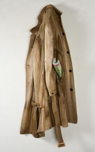 Objetos feitos com madeira