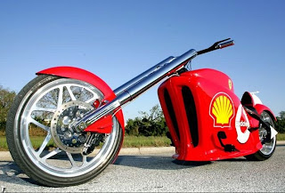 Ferrari Formula one Chopper