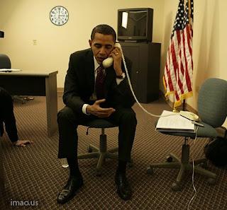 Hillary?…This is Barack….Barack Obama…..Barack Hussein Obama.