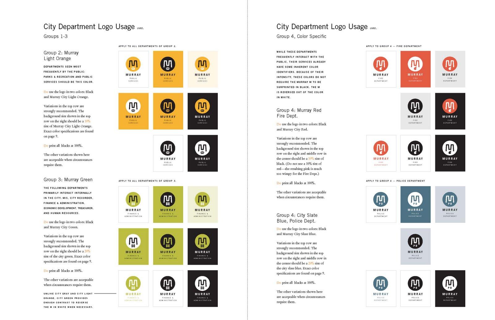 Lennon Design Murray City Logo Guide