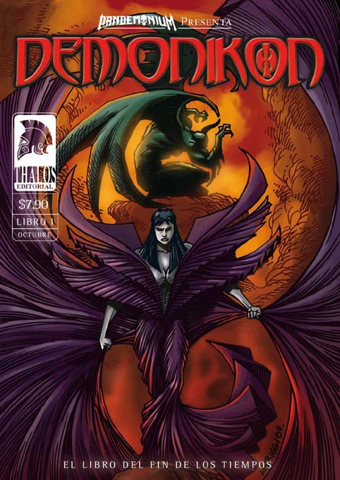 COVER:DEMONIKON PENCIL AND INK MERIGGI / COLOR MIROGLIO