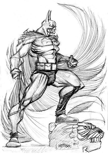 BATMAN SKETCH / MERIGGI