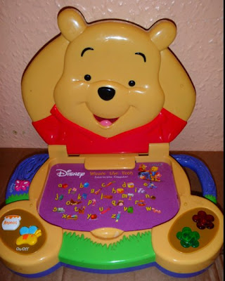 My Baby World Winnie The Pooh Interactive Computer 286