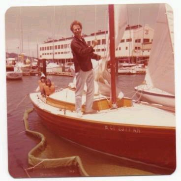 bild: Folkboat in Bag