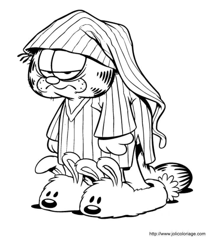 Colorindo E Desenhando: Garfield Para Colorir #2